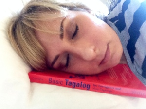 learning language while sleeping